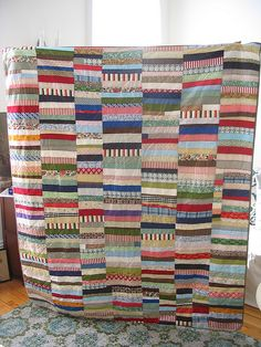 string quilt by CB Handmade, via Flickr
