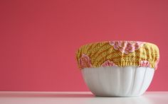 DIY fabric-bowl covers are a waste-free way to keep food bug-free at a picnic.