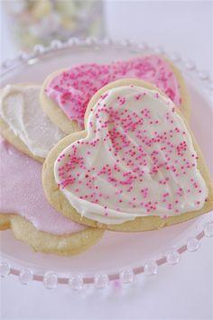 Valentine Sugar Cookies  @yourhomebasedmom.com
