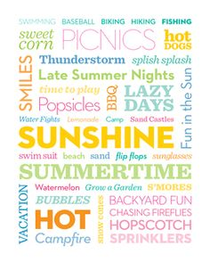Summer is officially here! Download our #free printable to decorate your home with sunny summer reminders: http://www.parents.com/holiday/holiday-decorative-printables/?socsrc=pmmpin130621HnCSummer