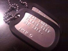 safe, heart, dear lord, dog tags, son, usmc, military mom, friend, armi wife