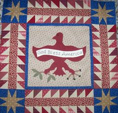 Patchalot More, Eagle quilt