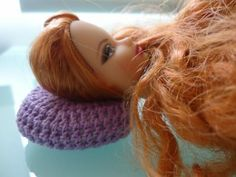 Barbie Doll Crochet: Round Pillow Free Pattern