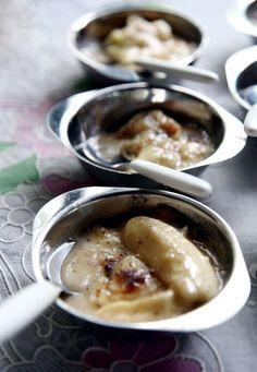 Sombremesa de Banana com Queijo (Banana and Cheese Pudding) Recipe - Saveur.com