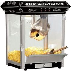 $172  Antique Carnival-Style Tabletop Popcorn Popper