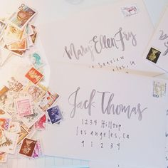 watercolor calligraphy
