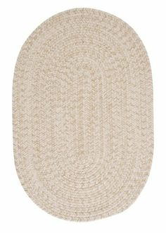 Colonial Mills Tremont TE09 Natural 10' x 13' Oval by Colonial Mills. $799.00. This round braided rug makes you just want to cozy up in front of the fire. The wool blend yarns create a textured softness and the natural color scheme coordinates with any decor.