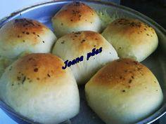 Joana Pães: Pão de batata sabor pizza