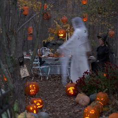 Halloween Party in the Wood
