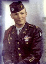 "Major Richard, ""Dick"" Winters, 506th PIR, 101st Airborne, US Army"