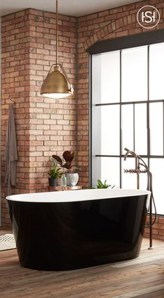 Eden Black Acrylic Freestanding Tub