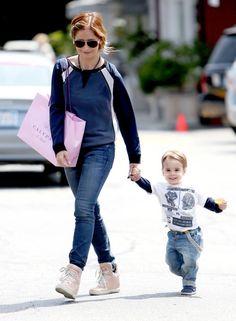 Sarah Michelle Gellar & Her Little Guy