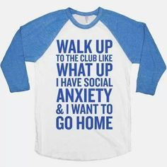 The shirt for introverts. -D