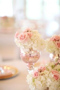 Pretty in pink > Blush and Gold