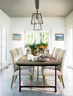Dining Rooms On Pinterest Hans Wegner Dining Rooms And Steel Table