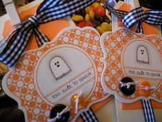 Tiny Treats Halloween goodies