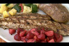 Fish recipes on pinterest mahi mahi stuffed flounder for Drum fish recipes