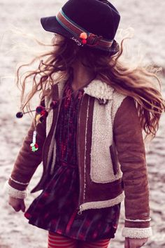Retro styling from Scotch R' Belle for winter 2012 kidswear; almost didn't pin this, but it resonates somehow...