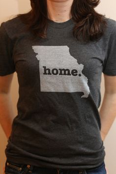 The #Missouri Home T. Super soft, and a portion of profits are donated to multiple sclerosis research.(http://www.thehomet.com/missouri-home-t/)