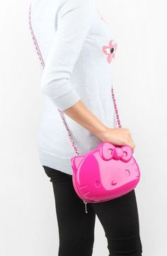The perfect pink #HelloKitty shoulder bag