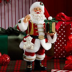 Possible Dreams Santa's Christmas Bear For You Figurine by Lenox  #lenoxholiday