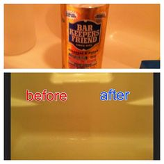 Got this stuff from the dollar store and it has worked better than every product I have tried and every home remedy! Called bar keepers friend. Put it on a wet surface then scrub and rinse