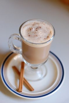 A recipe for Chai Tea Concentrate, and how to make hot and cold chai tea lattes. In the comments, someone gave their recipe for making their own chai mix. Check it out! I LOVE chai tea!