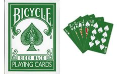 Bicycle The Green Deck Playing Cards. #playingcards #poker #games