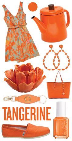 Matchbook Mag Tangerine Color Palette's include C. Wonder key fob and votive!