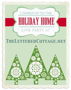 The Lettered Cottage Mantel party is live!