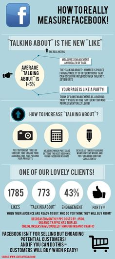 How To Really Measure Your Facebook Success #Infographic #SocialMedia #Facebook
