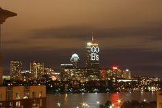 Go B's , Boston Skyline