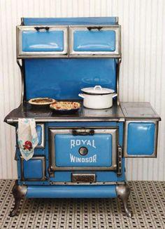 1920s Windsor Stove royal windsor, vintage stoves, blue stove, 1920, windsor stove, kitchen, antiqu, blues, thing