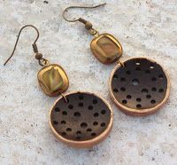 How to Make Earrings from Buttons