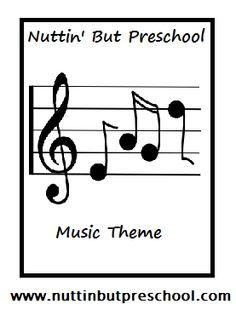 Preschool Music Unit