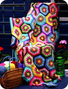 Crochet Afghan- stunning!