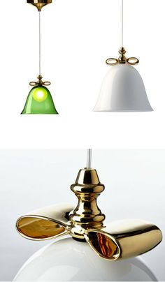 Blown #glass pendant #lamp BELL LAMP by Moooi© | #design Marcel Wanders @Moooi The Unexpected Welcome The Unexpected Welcome