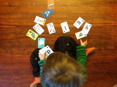Montessori cards!  Help the campaign on Kickstart!!