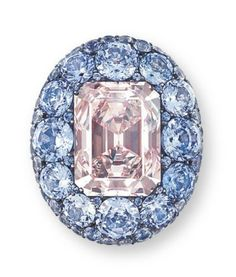 JAR Sapphire and diamond ring
