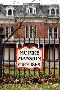 MC Pike Mansion   Alton, IL   Said to be haunted