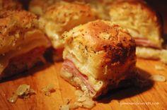 Hawaiian Ham Rolls
