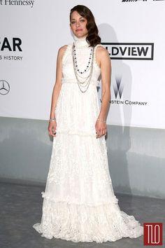 Marion Cotillard in Alexander McQueen