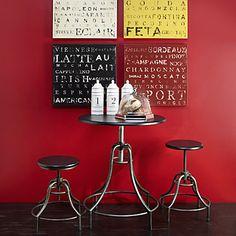Bistro Adjustable Table & Stools