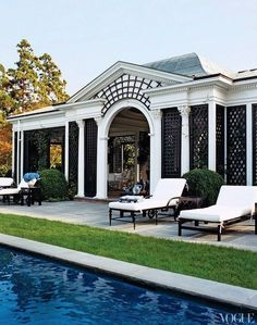 10 Best Pool Houses | Camille Styles