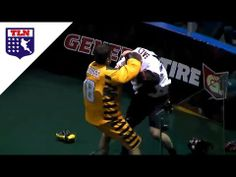 ▶ Lacrosse Fight | Schuss and Salt duke it out | Minnesota Swarm at Vancouver Stealth - YouTube
