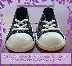 ZONA DE MANUALIDADES: Zapatillas de Fofuchas