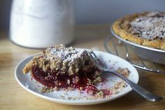 Cranberry Pie with T