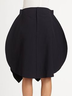 Comme des Garcons makes a skirt that looks like a spatula. Hrm.
