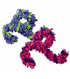fleec project, fleec idea, crafti, loopi scarf, fleec scarf, loopi fleec, fleec boascarf, kid crafts, boa scarf