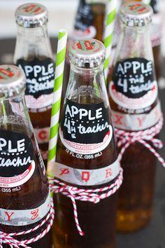 An apple for the teacher... teacher gift